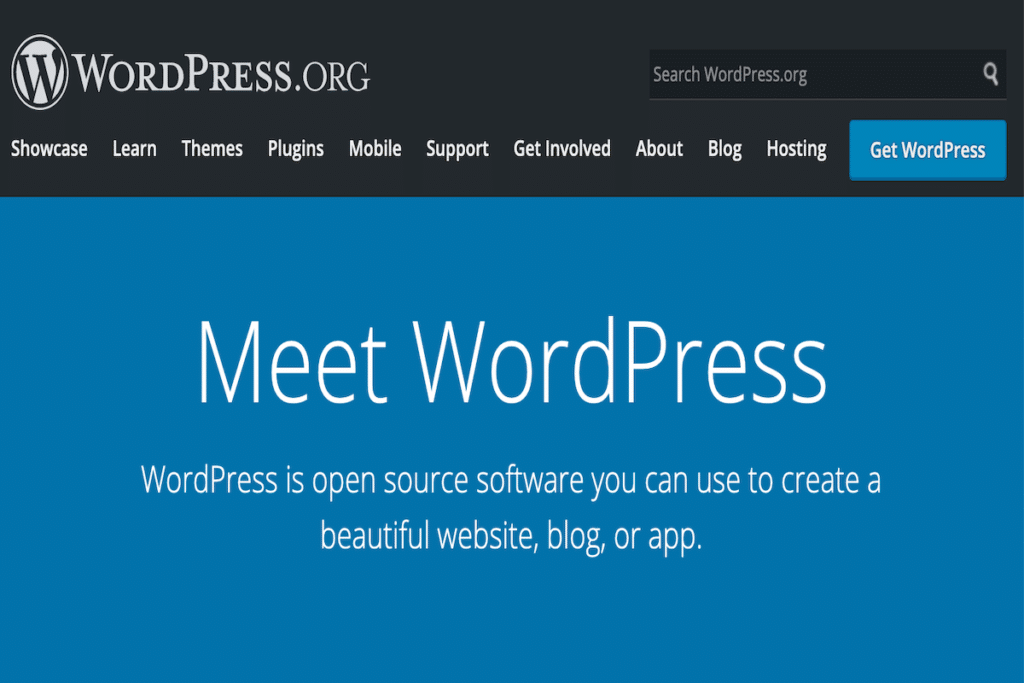 WordPress is now the leader in website architecture software, powering over 41 percent of the world's websites.